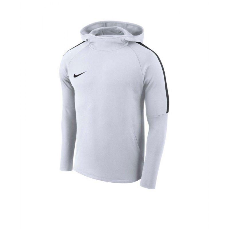 Nike Academy 18 Kapuzensweatshirt Weiss F100 - weiss