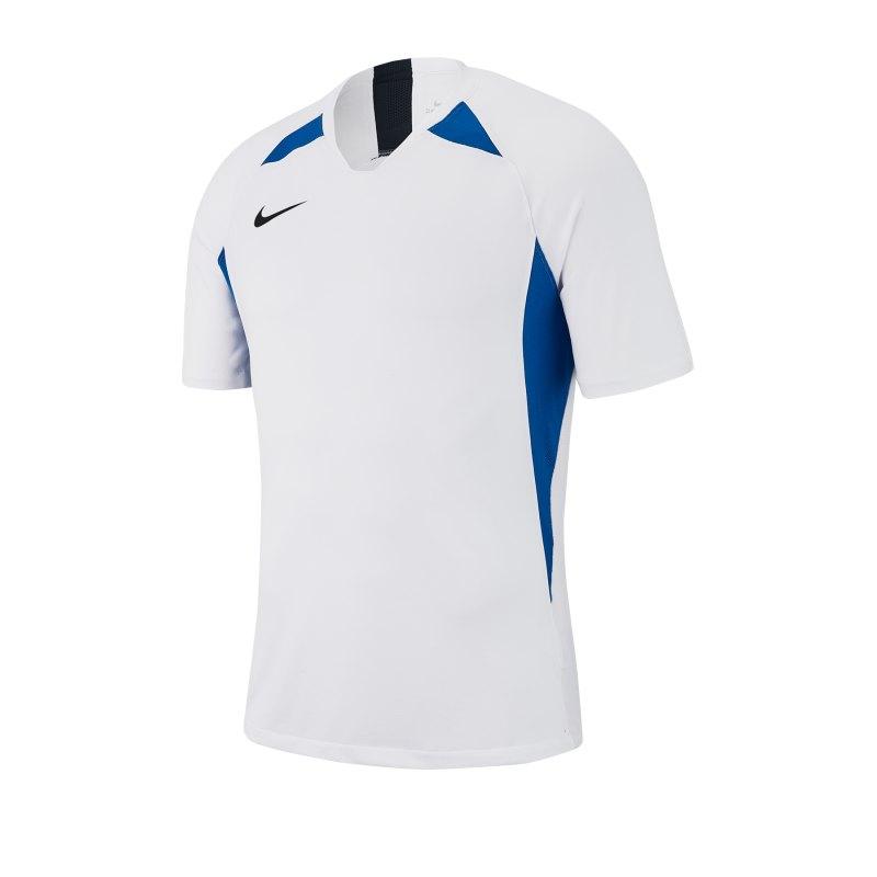 Nike Legend Trikot kurzarm Weiss Blau F102 - weiss