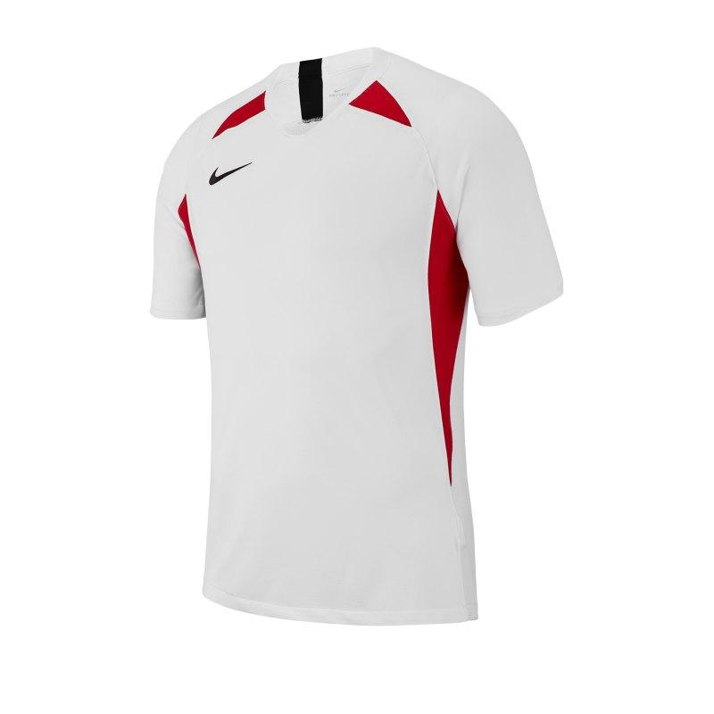 Nike Legend Trikot kurzarm Kids Weiss Rot F101 - weiss