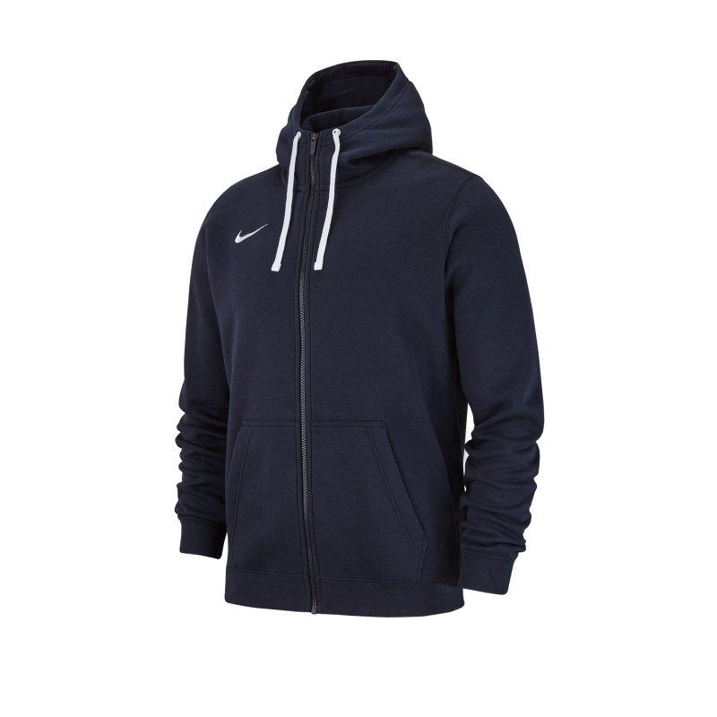 Nike Club 19 Fleece Kapuzenjacke Blau F451 - blau