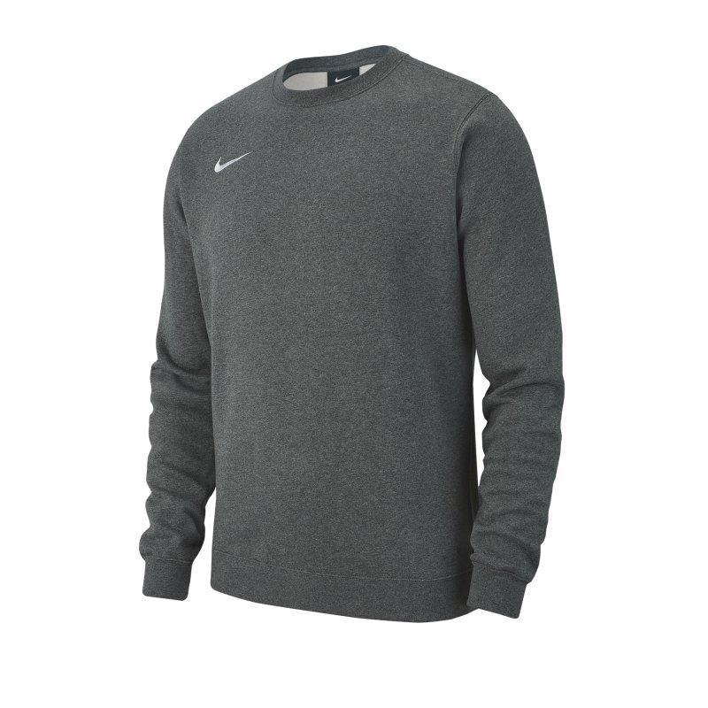 Nike Team Club 19 Fleece Sweatshirt Grau F071 - grau