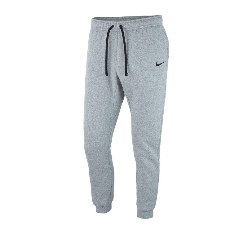 Nike Team Club 19 Fleece Jogginghose Grau F063 - grau