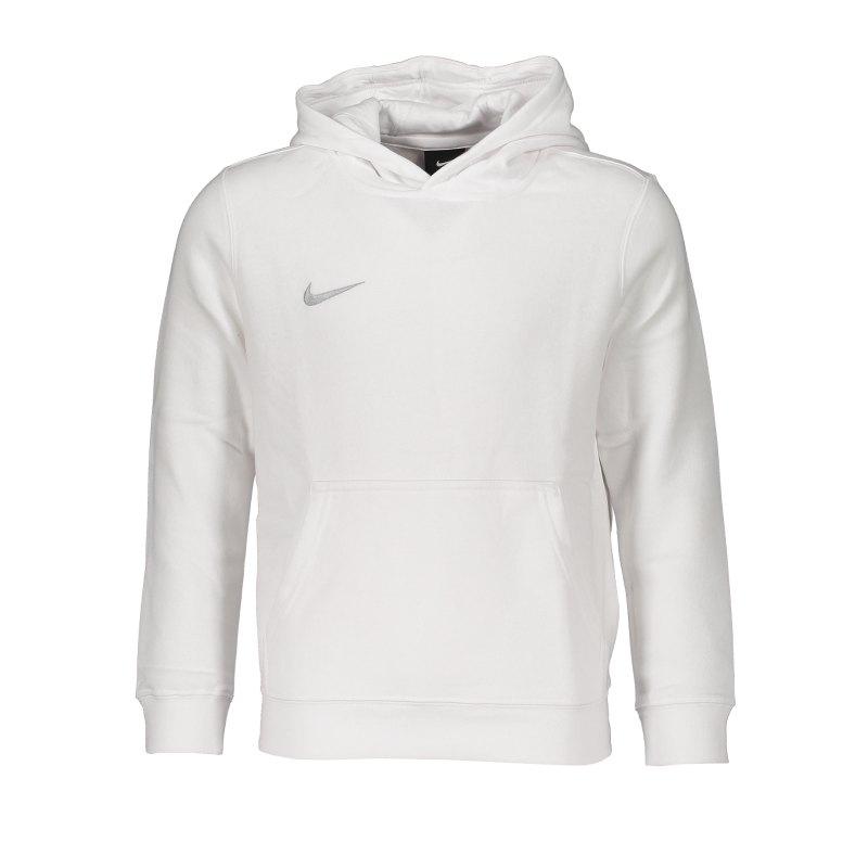 Nike Club 19 Fleece Hoody Kids Weiss F100 - weiss