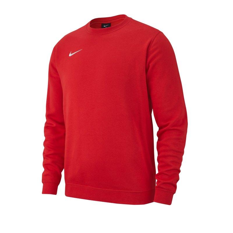 Nike Team Club 19 Fleece Sweatshirt Kids Rot F657 - rot