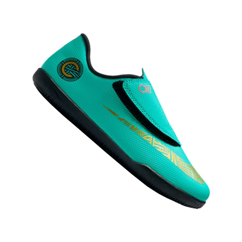 Nike Jr Mercurial VaporX XII Club CR7 IC Kids F390 - gruen