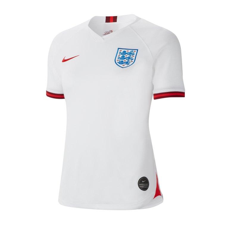 Nike England Trikot Home Damen WM 2019 Weiss F100 - Weiss