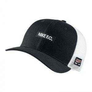 Nike F.C. Classic 99 Cap Kappe Schwarz F011 - schwarz