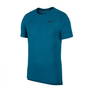 Nike Breathe Dri-FIT T-Shirt Blau F301 - Grün