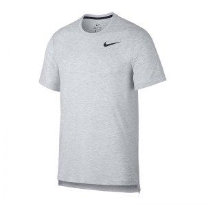 Nike Breathe Dri-FIT T-Shirt Grau F101 - Weiss