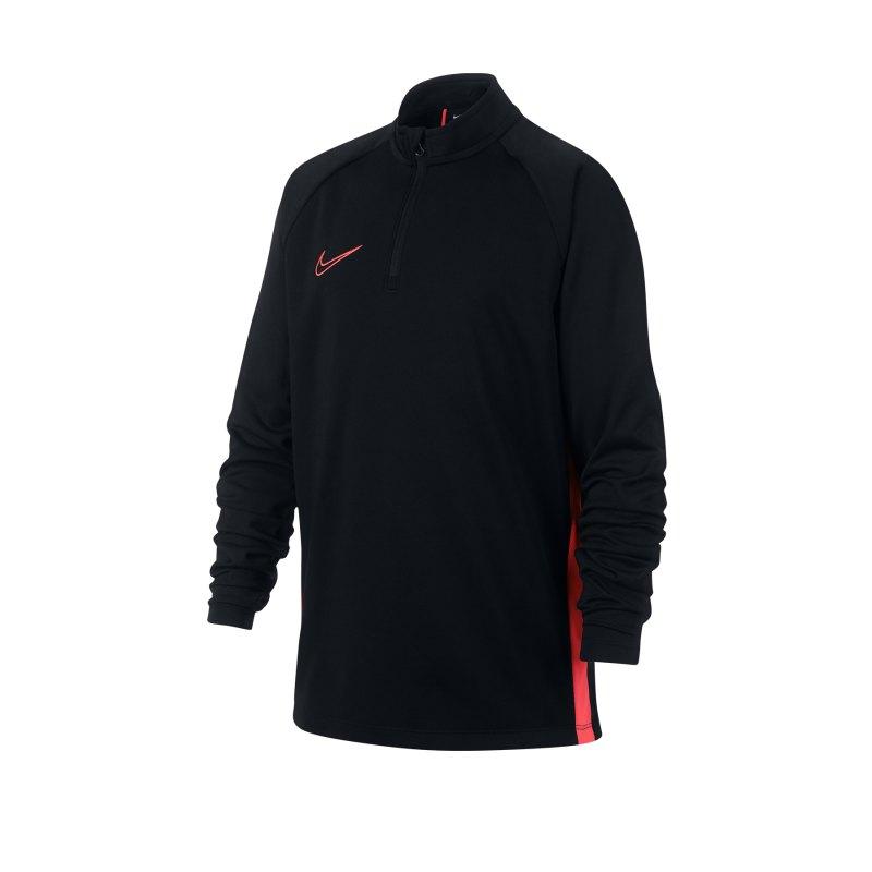 Nike Dry Academy Drill Top Kids Schwarz F013 - schwarz