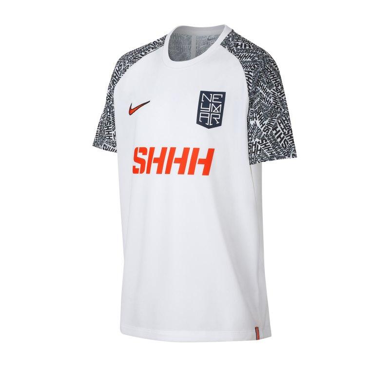 Nike Neymar Dri-FIT Tee Top T-Shirt Kids F100 - weiss