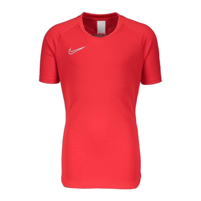 Nike Academy 19 Trainingsshirt SS Damen F657 - rot