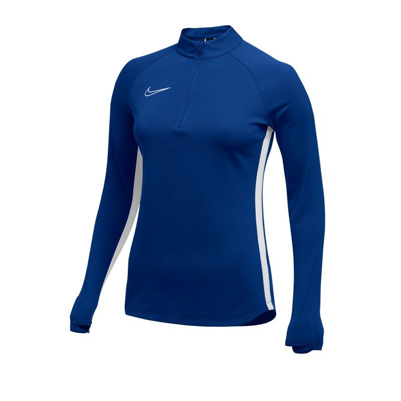 Nike Academy 19 Drill Top Sweatshirt Damen F463 - blau