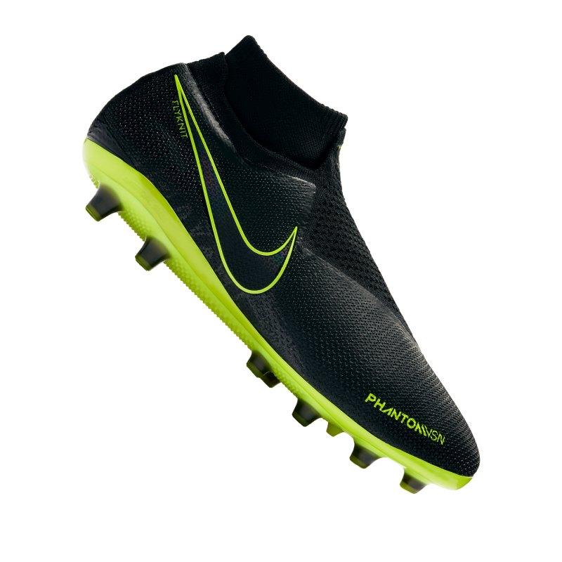 Nike Phantom Vision Elite AG-Pro Schwarz F007 - schwarz