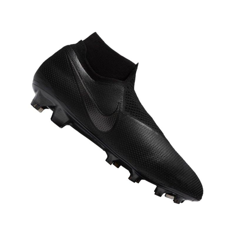 Nike Phantom Vision Elite FG Schwarz F001 - schwarz