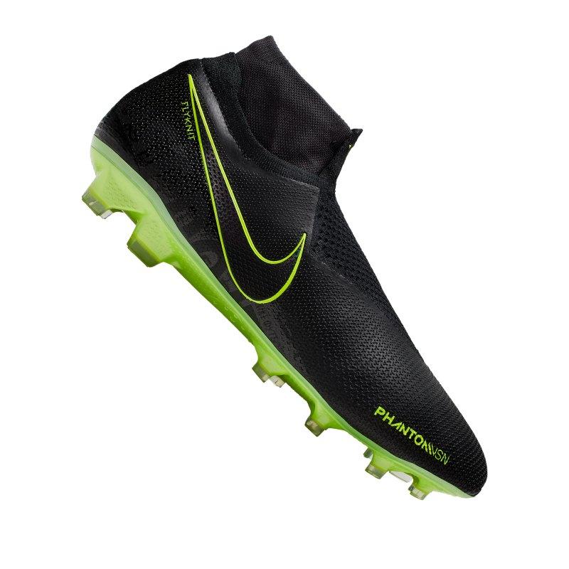 Nike Phantom Vision Elite FG Schwarz F007 - schwarz