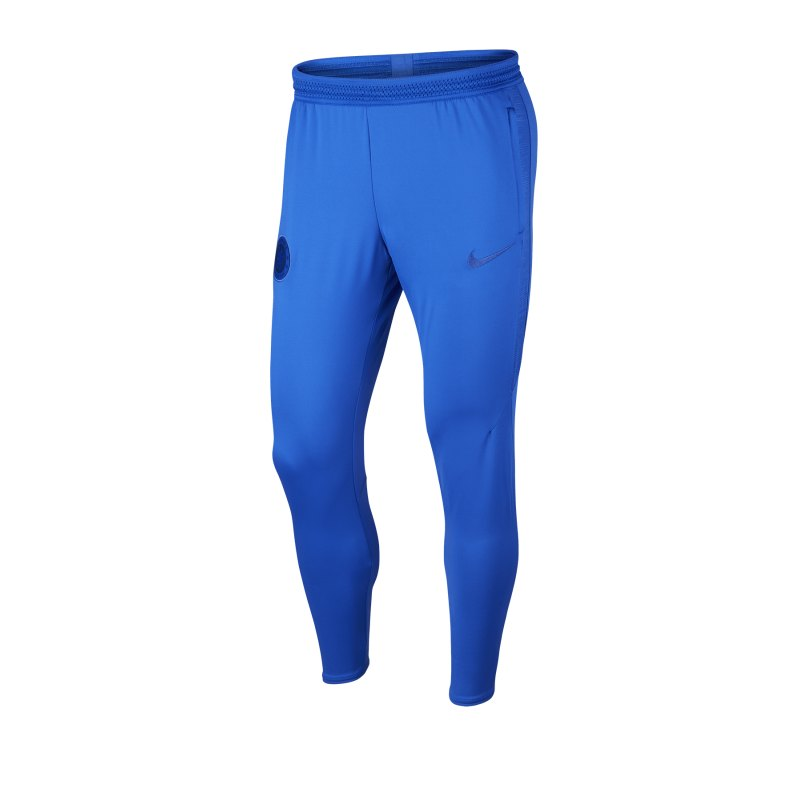 Nike FC Chelsea London Strike Pants Hose lang F406 - blau