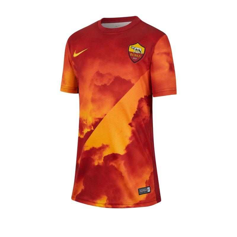 Nike AS Rom Prematch Shirt kurzarm Kids F739 - rot