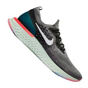 Nike Epic React Flyknit Running Grau F010 - grau