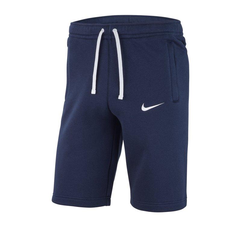 Nike Club 19 Fleece Short Kids Blau F451 - blau