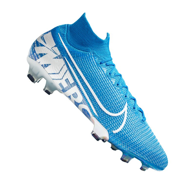 Nike Mercurial Superfly VII Elite FG Blau F414 - blau