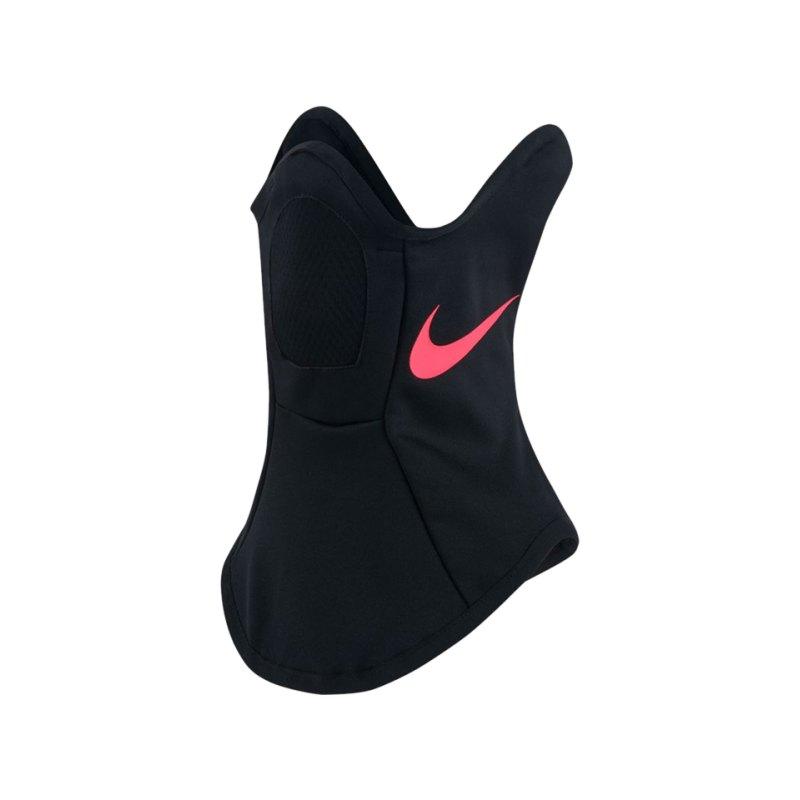 Nike Squad Snood Neckwarmer Schwarz Pink F010 - schwarz
