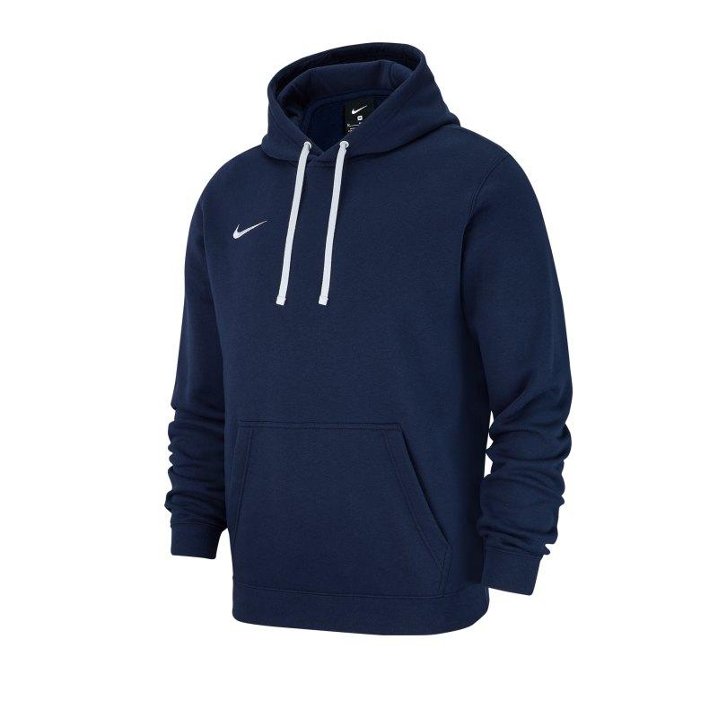 Nike Club 19 Fleece Hoody Blau F451 - blau
