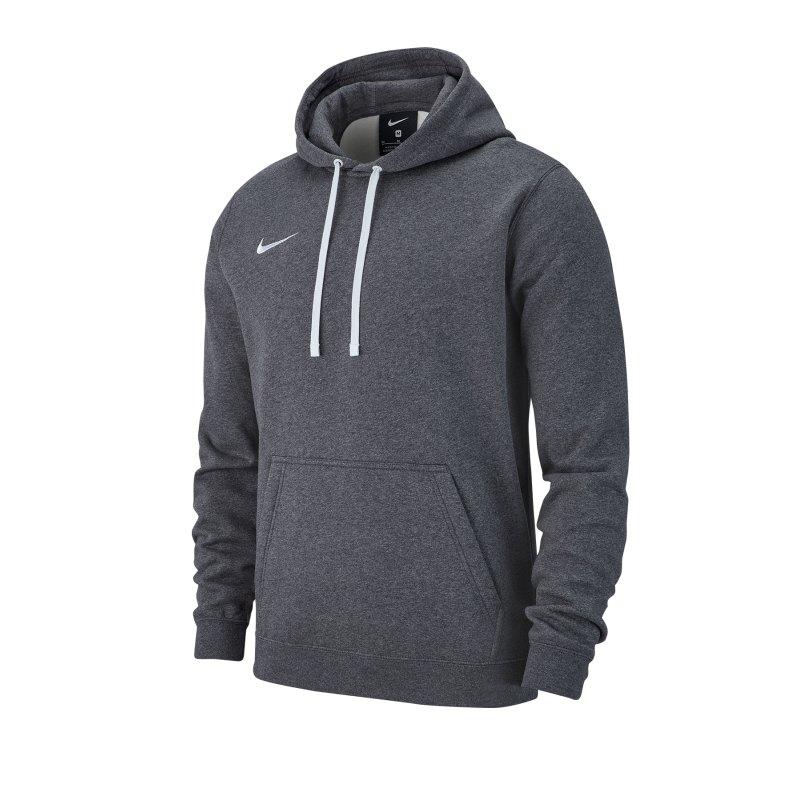 Nike Club 19 Fleece Hoody Grau F071 - grau
