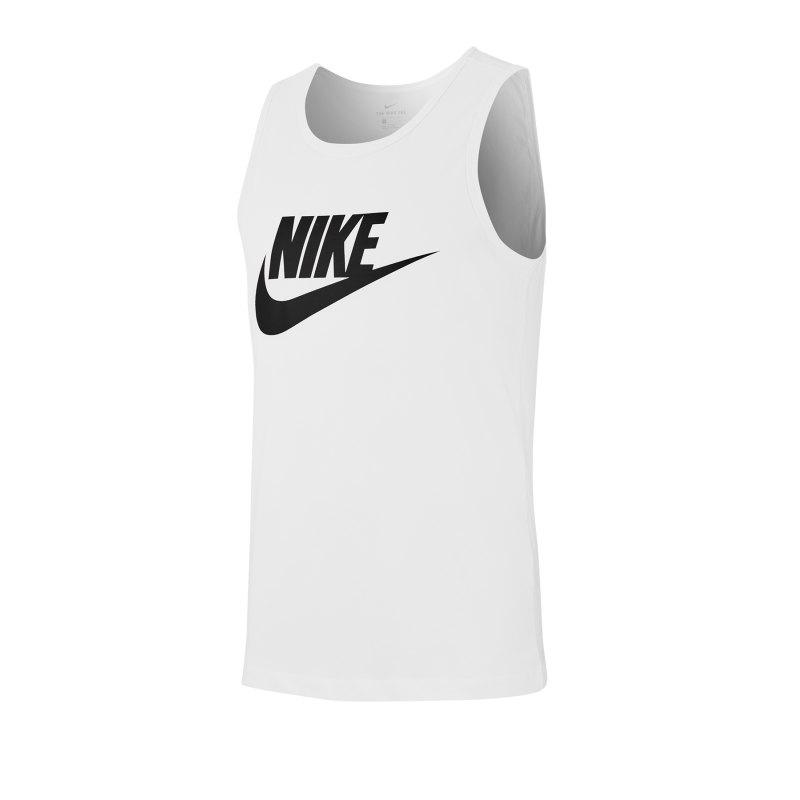 Nike Icon Futura Tanktop Weiss F101 - weiss