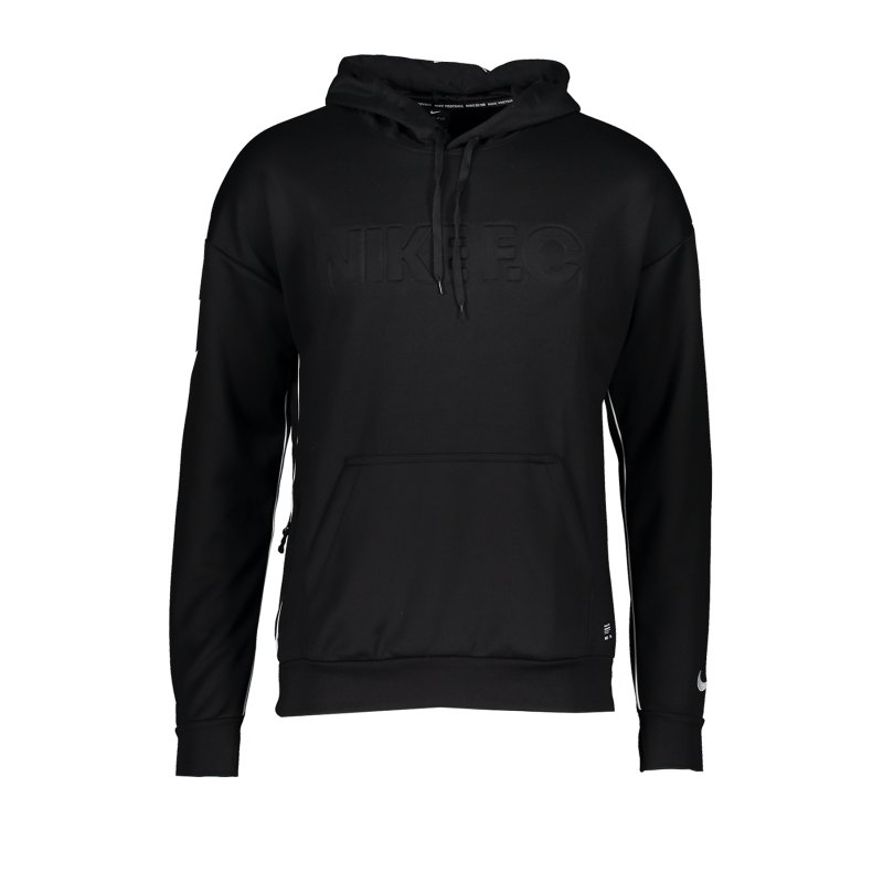 Nike F.C. Kapuzensweatshirt F010 - schwarz