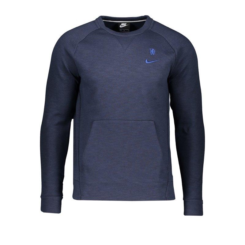 Nike FC Chelsea London Crew Sweatshirt F451 - blau