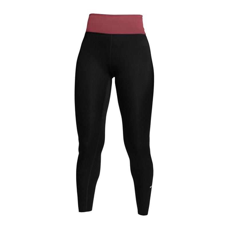 Nike One Luxe Leggings Training Damen Schwarz F013 - schwarz