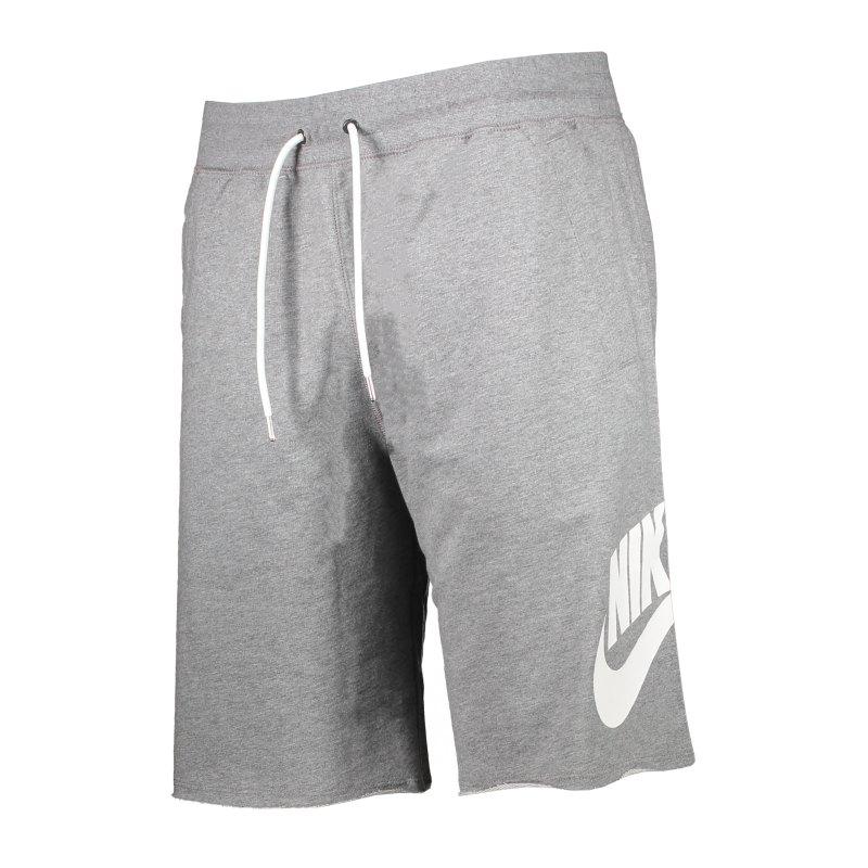 Nike FT GX 1 Short Grau Weiss F091 - grau
