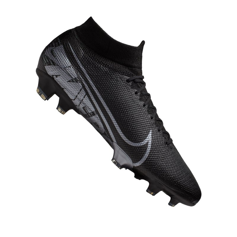 Nike Mercurial Superfly VII Pro FG Schwarz F001 - schwarz