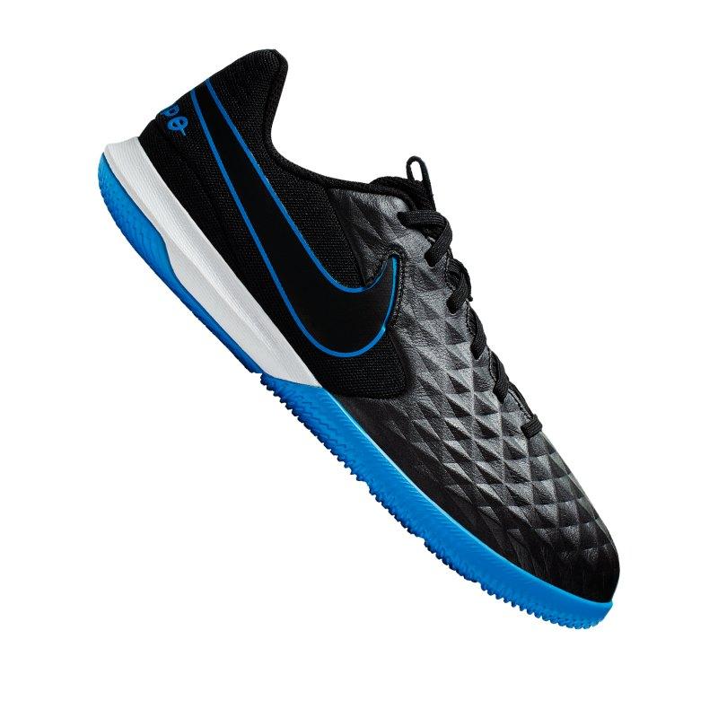 Nike JR Tiempo Legend VIII Academy IC Kids F004 - schwarz