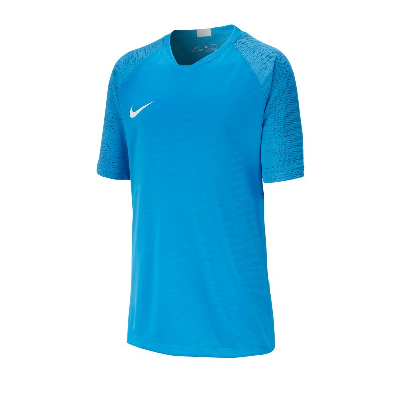 Nike Dri-FIT Breathe Strike T-Shirt Kids F435 - blau