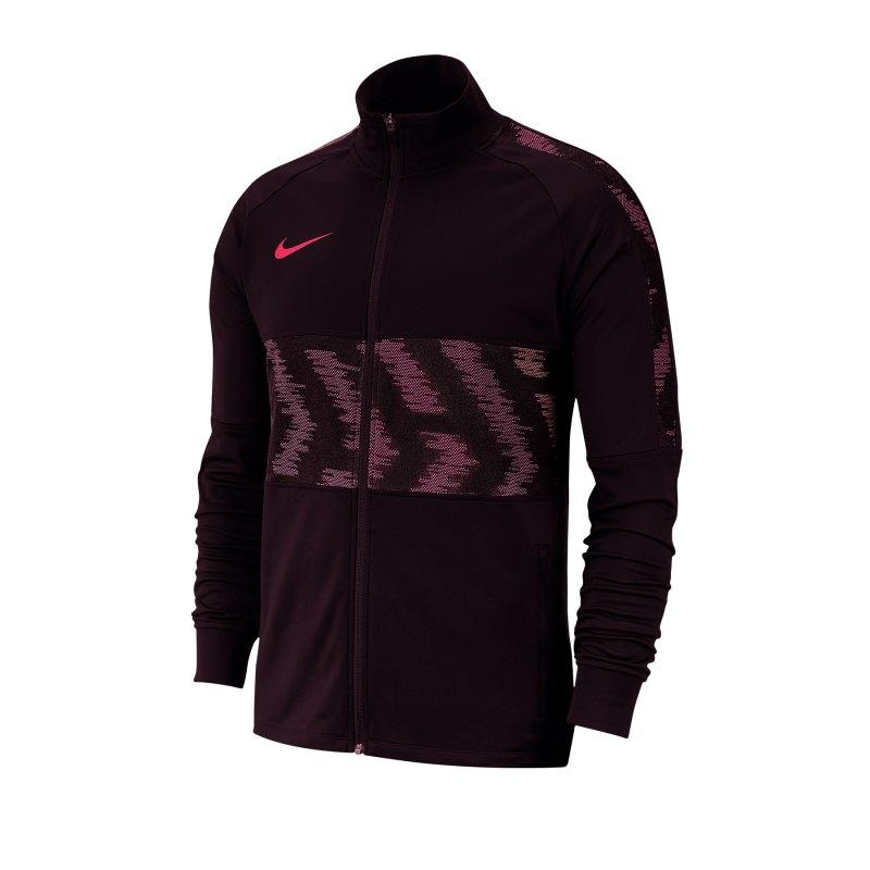 Nike Dri-FIT Strike Trainingsjacke Rot F659 - rot