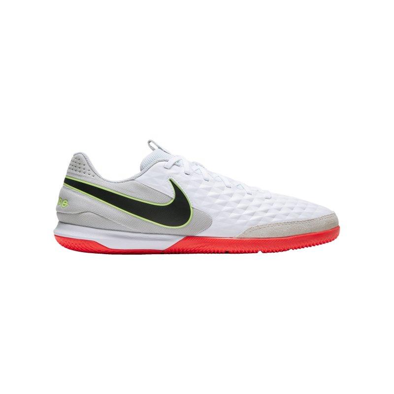 Nike Tiempo Legend VIII Academy IC Weiss F106 - weiss