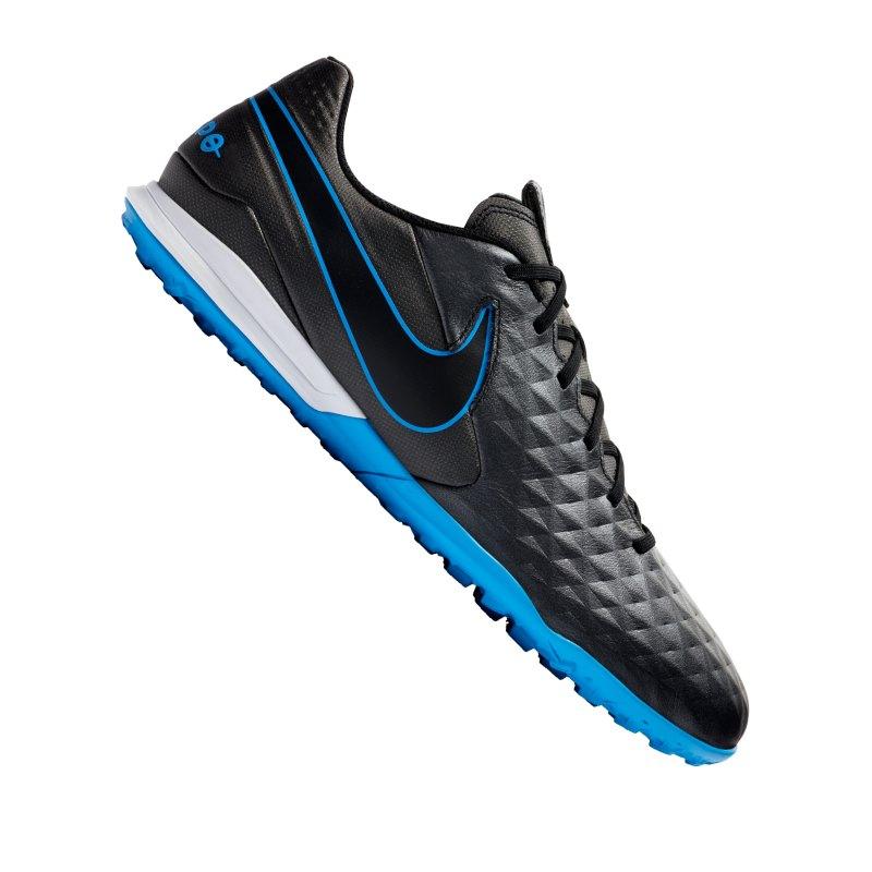Nike Tiempo Legend VIII Academy TF Schwarz F004 - schwarz