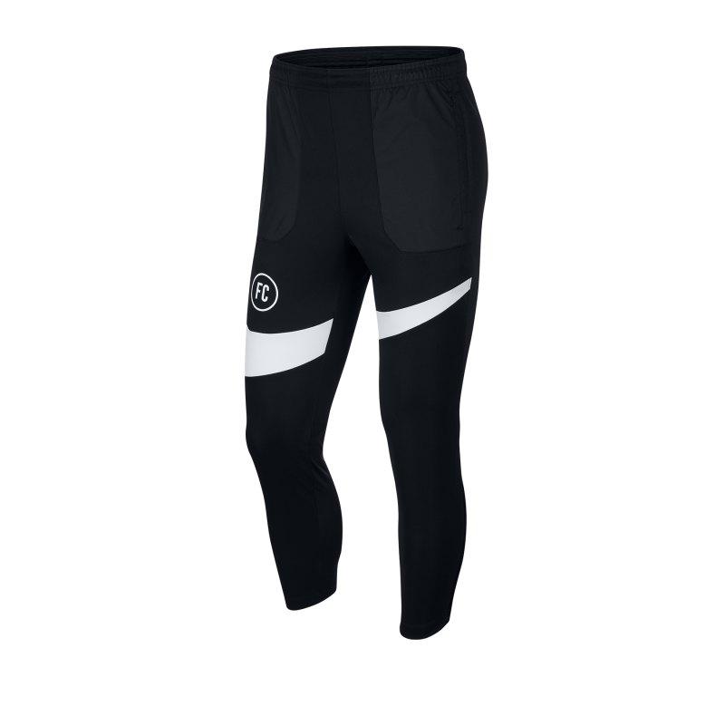 Nike F.C. Soccer Pants Jogginghose Schwarz F011 - schwarz