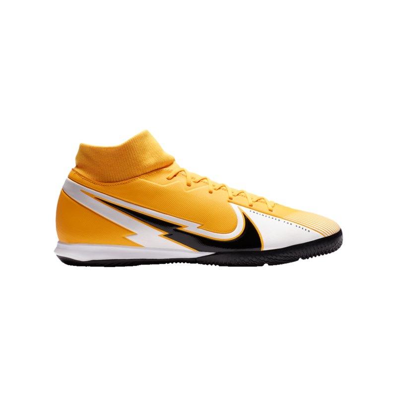 Nike Mercurial Superfly VII Daybreak Academy IC Orange F801 - orange