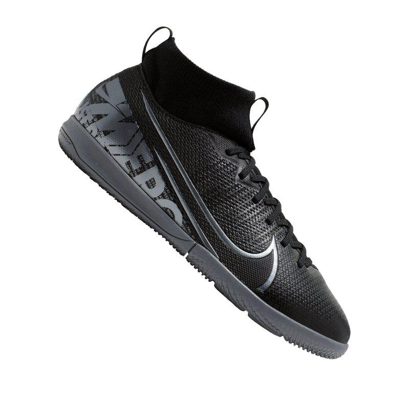 Nike Mercurial Superfly VII Academy IC Kids F001 - schwarz