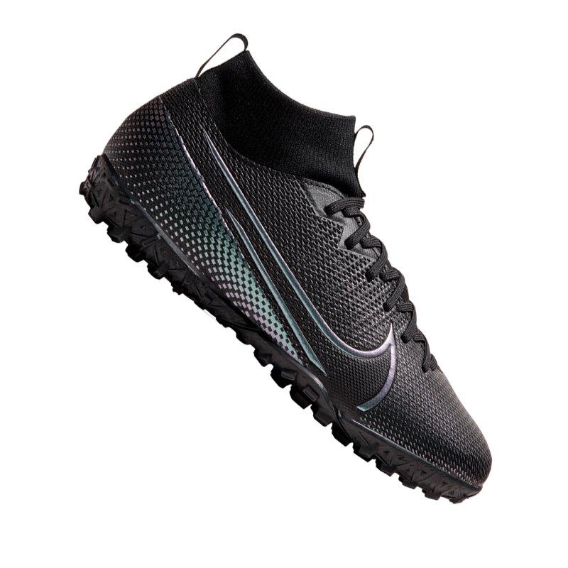 Nike Jr Mercurial Superfly VII Academy TF Kids F010 - schwarz