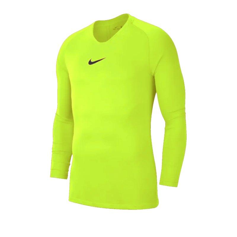 Nike Park First Layer Top langarm Gelb F702 - gelb