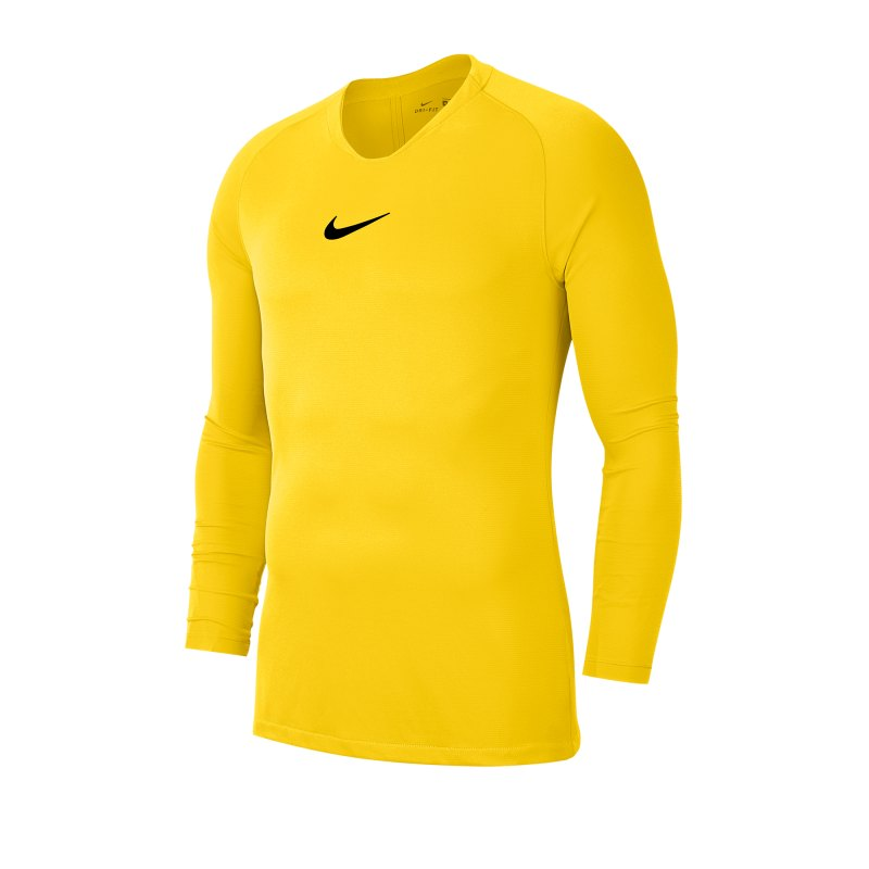 Nike Park First Layer Top langarm Gelb F719 - gelb