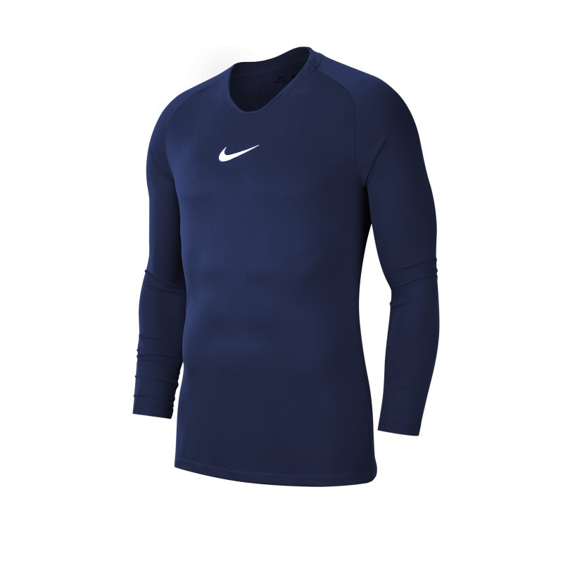 Nike Park First Layer Top langarm Kids Blau F410 - blau