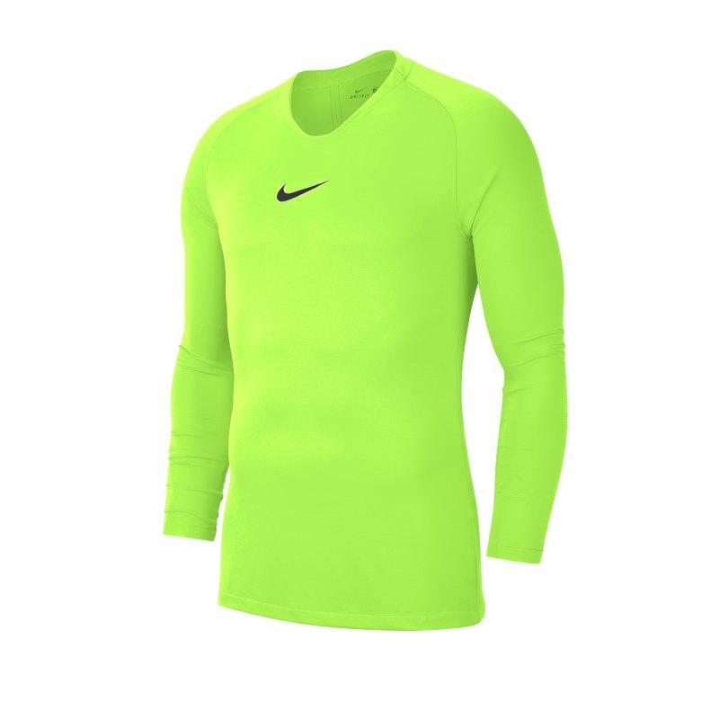 Nike Park First Layer Top langarm Kids Gelb F702 - gelb