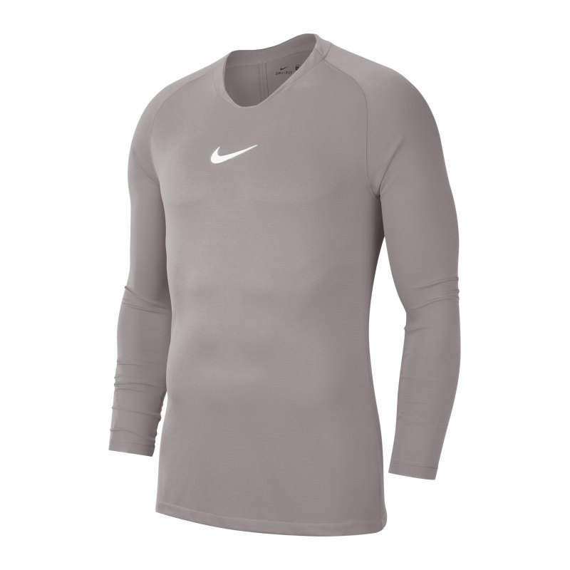 Nike Park First Layer Top langarm Kids Grau F057 - grau