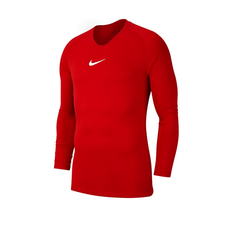 Nike Park First Layer Top langarm Kids Rot F657 - rot