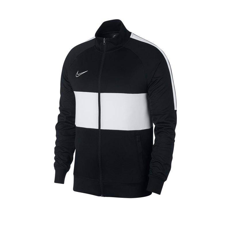 Nike F.C. Academy Dri-FIT Jacke Schwarz Weiss F010 - schwarz